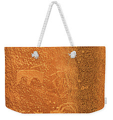 Escalante Canyon Rock Art Weekender Tote Bag