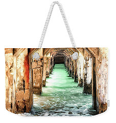 Escape To Atlantis Weekender Tote Bag