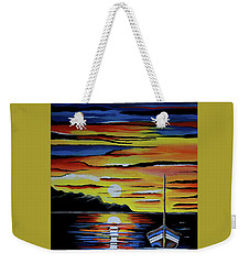 Escape To The Sea Weekender Tote Bag