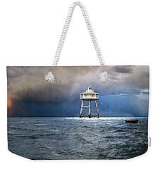 Escaping Rowboat Weekender Tote Bag