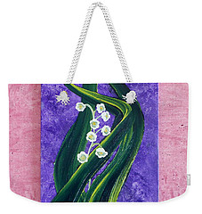 Escaping Winter Lilly Of The Valley Weekender Tote Bag