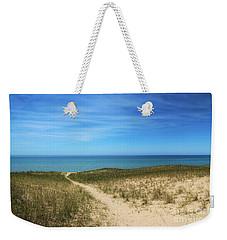 Weekender Tote Bag featuring the photograph Esch Beach by Rachel Cohen