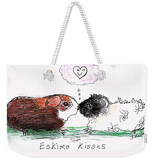 Eskimo Kisses Weekender Tote Bag