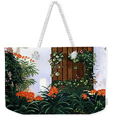 Weekender Tote Bag featuring the painting Espana by Lynne Reichhart