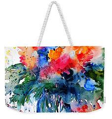 Essence Of Summer #2 Weekender Tote Bag by Trudi Doyle