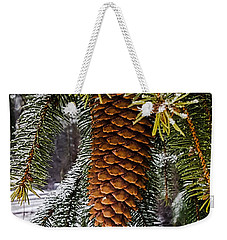 Weekender Tote Bag featuring the photograph Essence Of Winter  by Bruce Carpenter