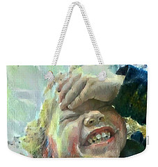 Esther, What Is So Funny? Weekender Tote Bag