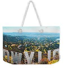 Esthetic Hollywood Weekender Tote Bag
