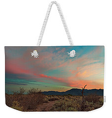 Estrella Sunset Weekender Tote Bag by David Cote