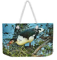 Estuary Duck Weekender Tote Bag