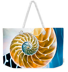Eternal Golden Spiral Weekender Tote Bag
