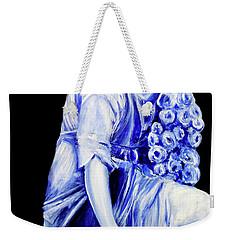 Flower Girl In Blue Weekender Tote Bag