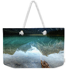 Eternal Reflections Emerald Lake Yoho National Park British Columbia Canada Weekender Tote Bag