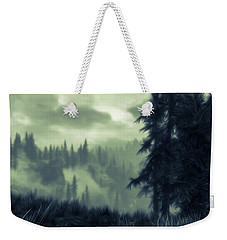 Eternal Shadow Falls  Weekender Tote Bag by Andrea Mazzocchetti