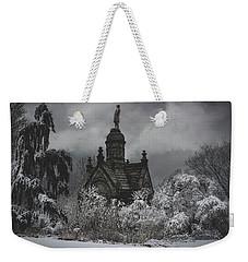 Weekender Tote Bag featuring the digital art Eternal Winter by Chris Lord