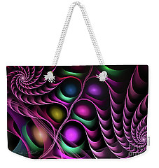 Weekender Tote Bag featuring the digital art Eternity  by Melissa Messick