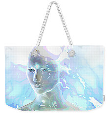 Weekender Tote Bag featuring the digital art Ethereal Spirit by Shadowlea Is