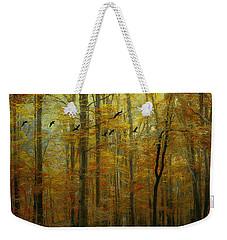 Ethereal Autumn Weekender Tote Bag