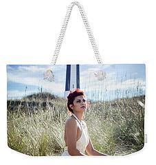 Ethereal Gaze Weekender Tote Bag by Stefanie Silva