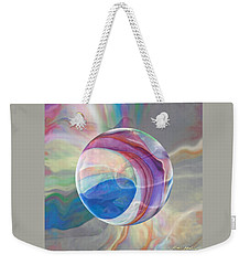 Weekender Tote Bag featuring the painting Ethereal World by Robin Moline