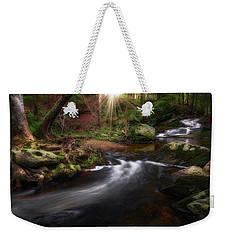 Weekender Tote Bag featuring the photograph Ethereal Morning 2017 by Bill Wakeley
