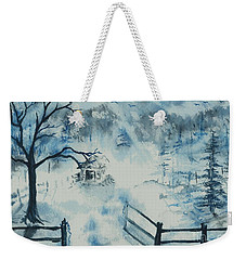 Ethereal Morning  Weekender Tote Bag