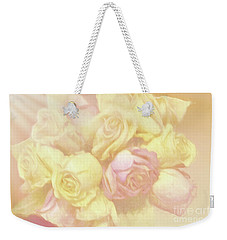 Ethereal Rose Bouquet Weekender Tote Bag by Linda Phelps