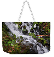 Weekender Tote Bag featuring the photograph Ethereal Solitude by Bill Wakeley