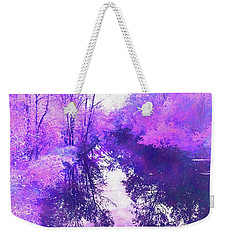Ethereal Water Color Blossom Weekender Tote Bag