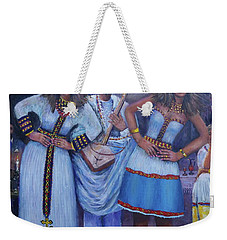 Ethiopian Ladies Shoulder Dancing Weekender Tote Bag