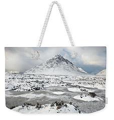 Etive Mor Winter Weekender Tote Bag