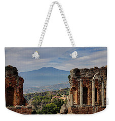 Etna From The Greek Theater Weekender Tote Bag