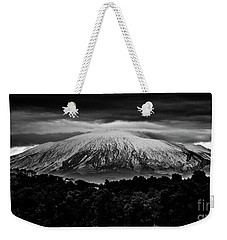 Etna, The West Side Weekender Tote Bag