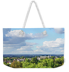 Weekender Tote Bag featuring the photograph Eton College From Windsor Castle by Joe Winkler