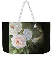 Etre Fleur  Weekender Tote Bag by Patricia Schneider Mitchell