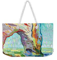 Etretat  Weekender Tote Bag by Pierre Van Dijk