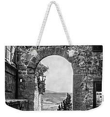 Etruscan Arch B/w Weekender Tote Bag
