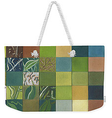 Euca Abstract Weekender Tote Bag