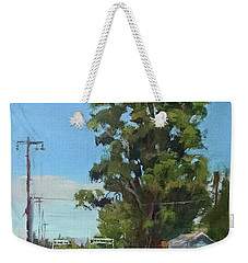 Eucalyptus Tree Near Schellville, Ca Weekender Tote Bag