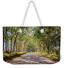 Eucalyptus Tree Tunnel - Kauai Hawaii Weekender Tote Bag