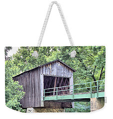 Euharlee Creek Covered Bridge Weekender Tote Bag