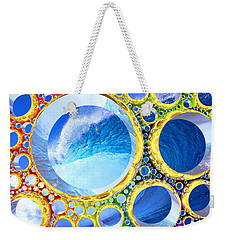 Weekender Tote Bag featuring the digital art Euphoria by Andreas Thust