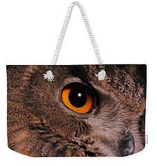 Eurasian Eagle-owl Weekender Tote Bag