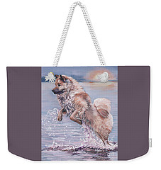 Eurasier In The Sea Weekender Tote Bag