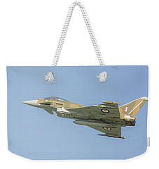 Weekender Tote Bag featuring the photograph Euro Fighter by Roy McPeak