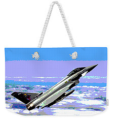 Eurofighter Typhoon Weekender Tote Bag by Charles Shoup