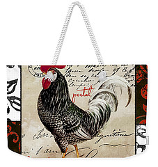 Europa Rooster IIi Weekender Tote Bag by Mindy Sommers