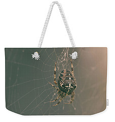European Garden Spider B Weekender Tote Bag
