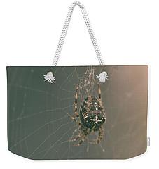 European Garden Spider B Weekender Tote Bag