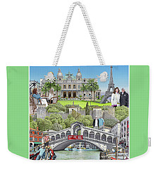 European Vacation Weekender Tote Bag by Albert Puskaric